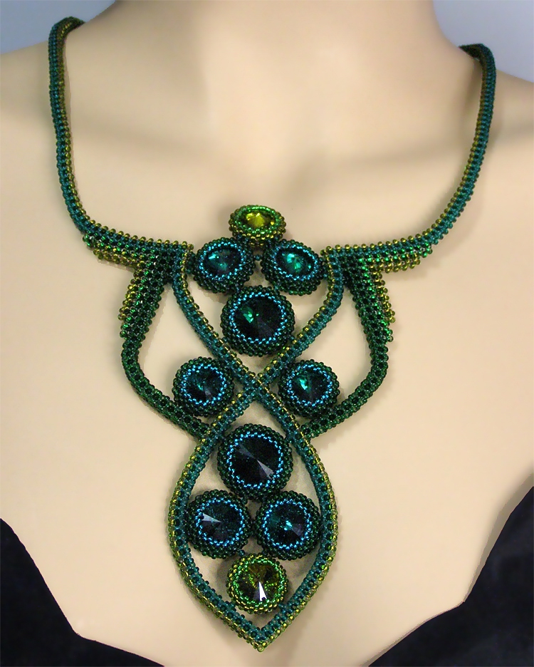 Necklace «Emerald»