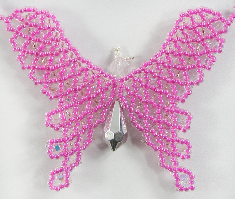 Necklace «Butterfly»