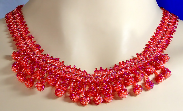 Necklace «Cherry»