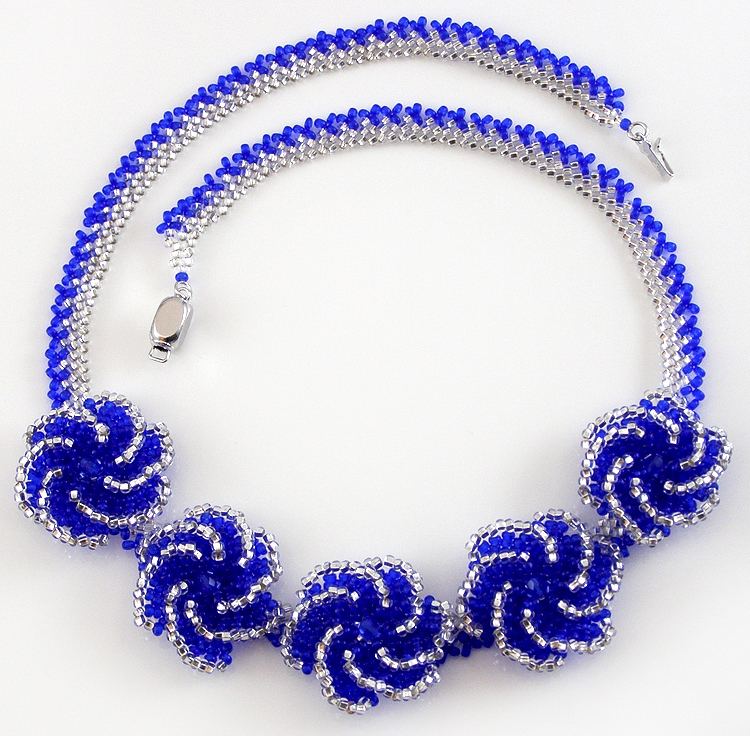 Necklace «Whirlpool»