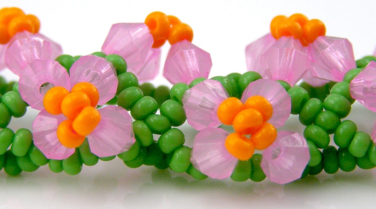 Necklace «Spring Cluster»