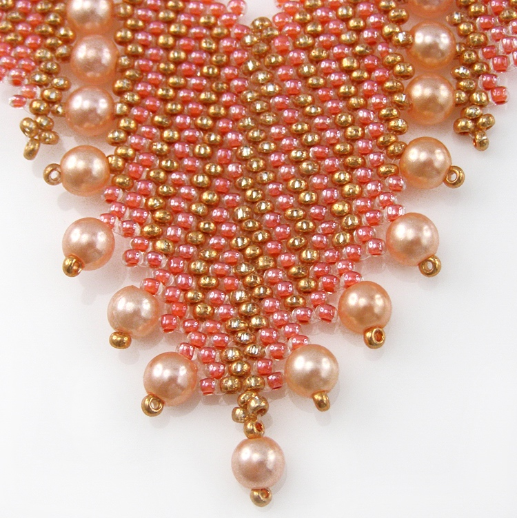 Necklace «Scarlett's Pearls»