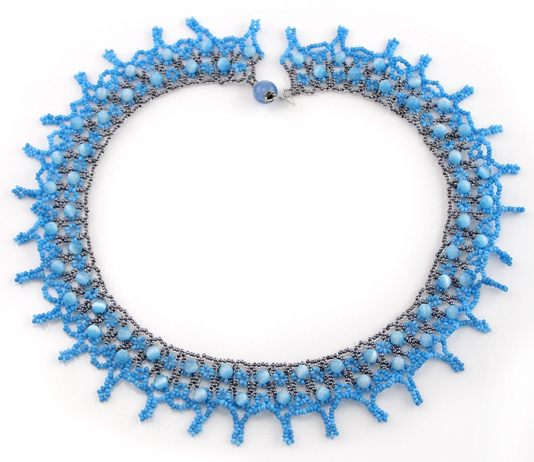 Necklace «Byzantine Blue»