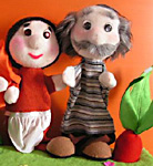 Dolls «Eliezer and his carrot»
