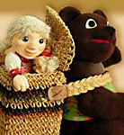 Dolls «Masha and Bear»