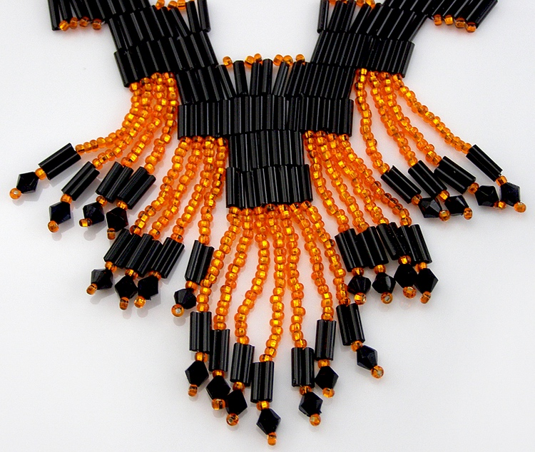 Necklace «Chinese Fireworks»