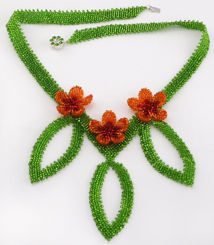 Necklace «Tropical Lace»