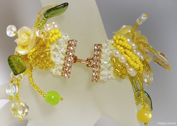 Bracelet «Yellow Dream catcher»