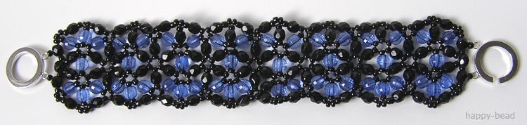 Bracelet «Light night»