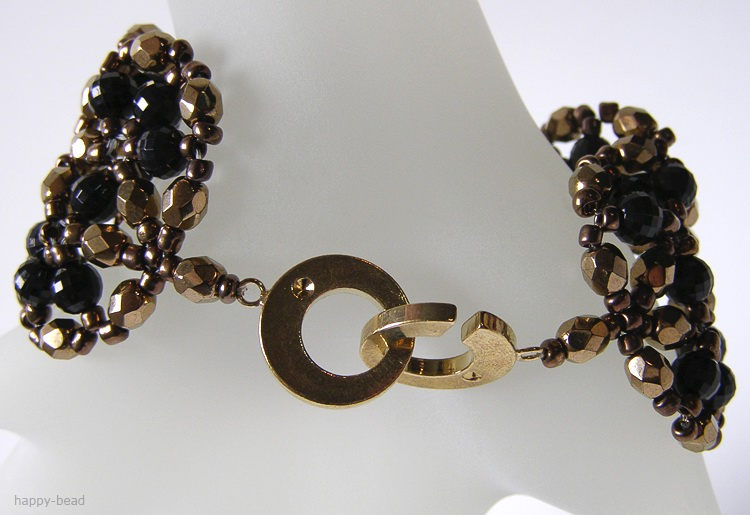 Bracelet «Charm of night»