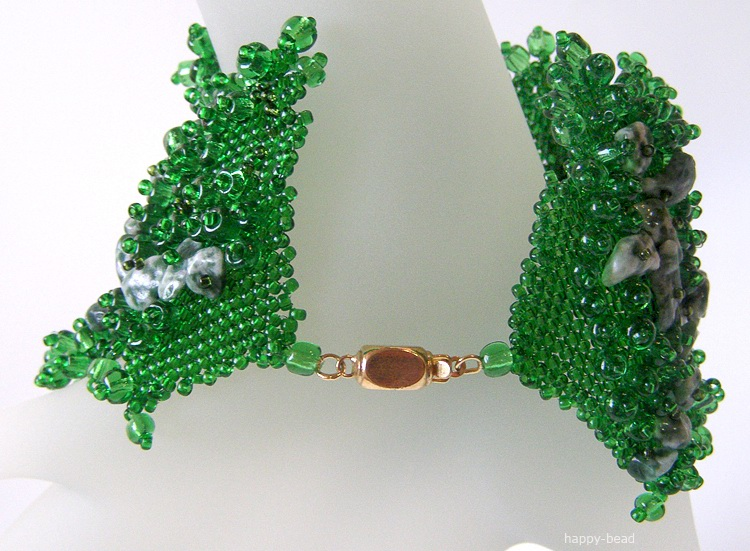 Bracelet «Rainforest impressions»
