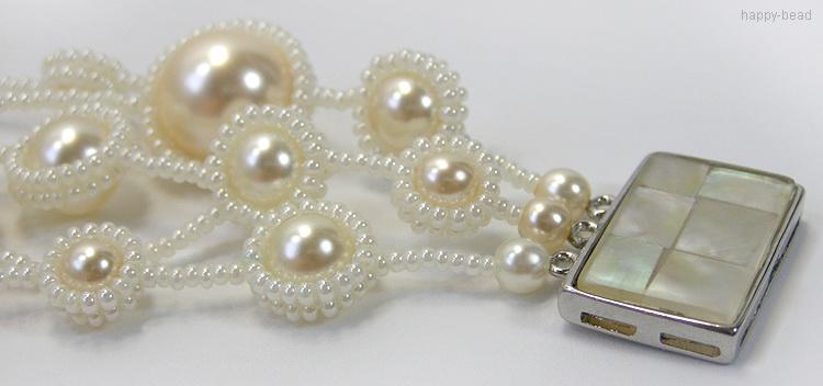 Bracelet «Bouquet of Pearls»