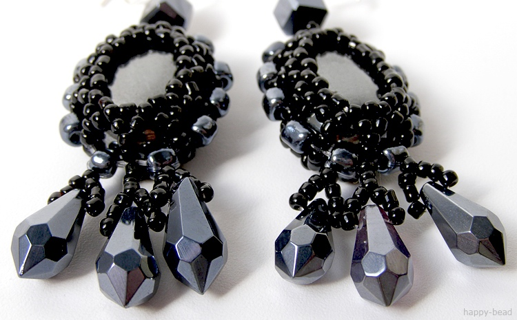 Ear rings «The Majestic»