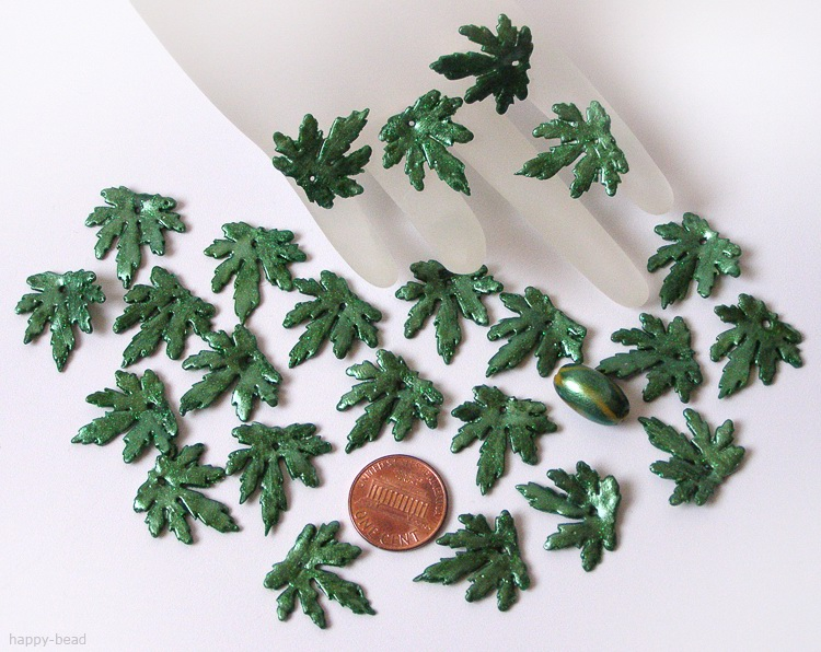 handmade leaves set 043