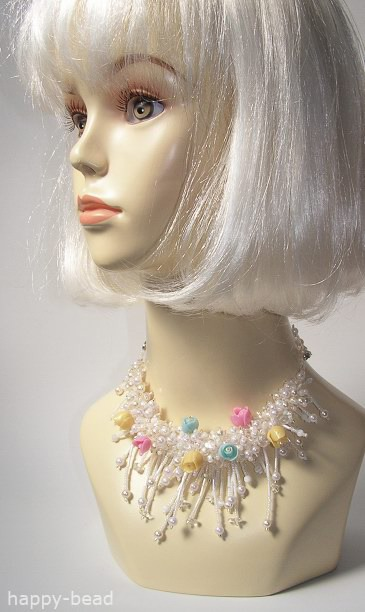Necklace «Spring melody»