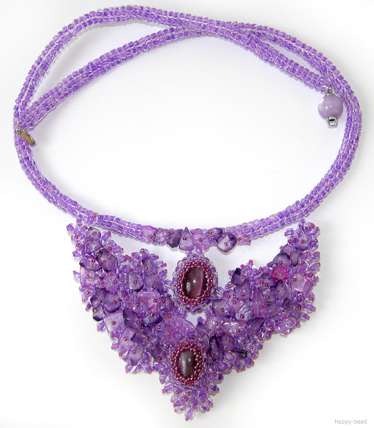 Necklace «The empress»