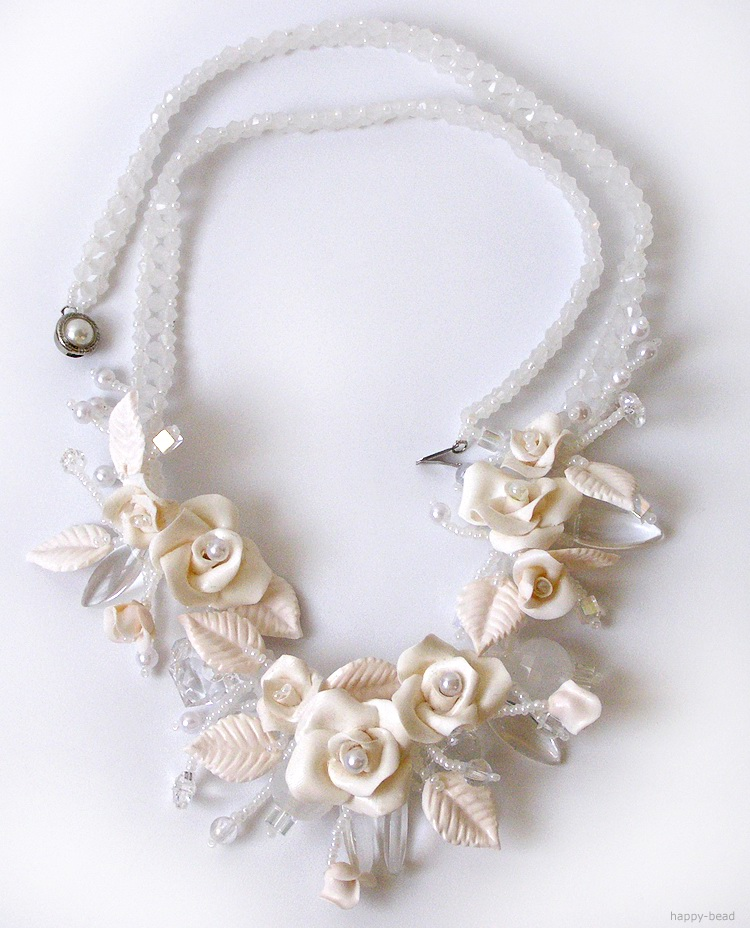 Necklace «Happy wedding»
