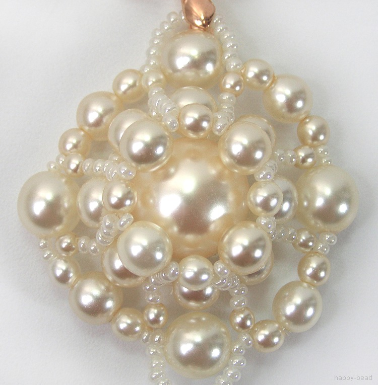Necklace «Bouquet of Pearls»