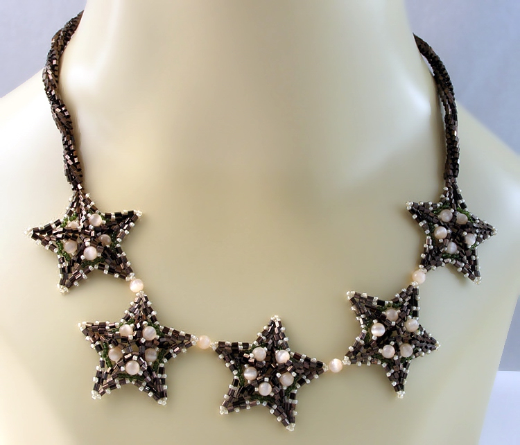 Necklace «Morning Stars»