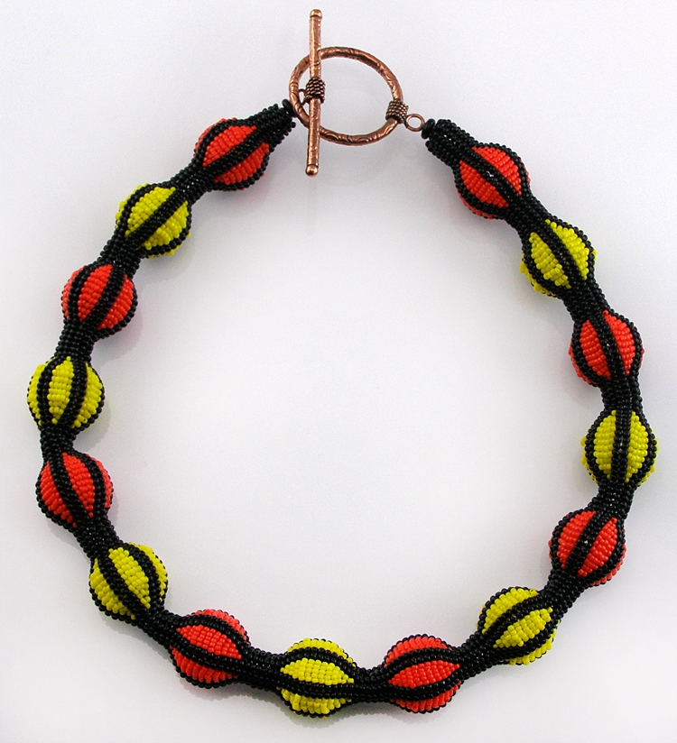 Necklace «Bright joke»