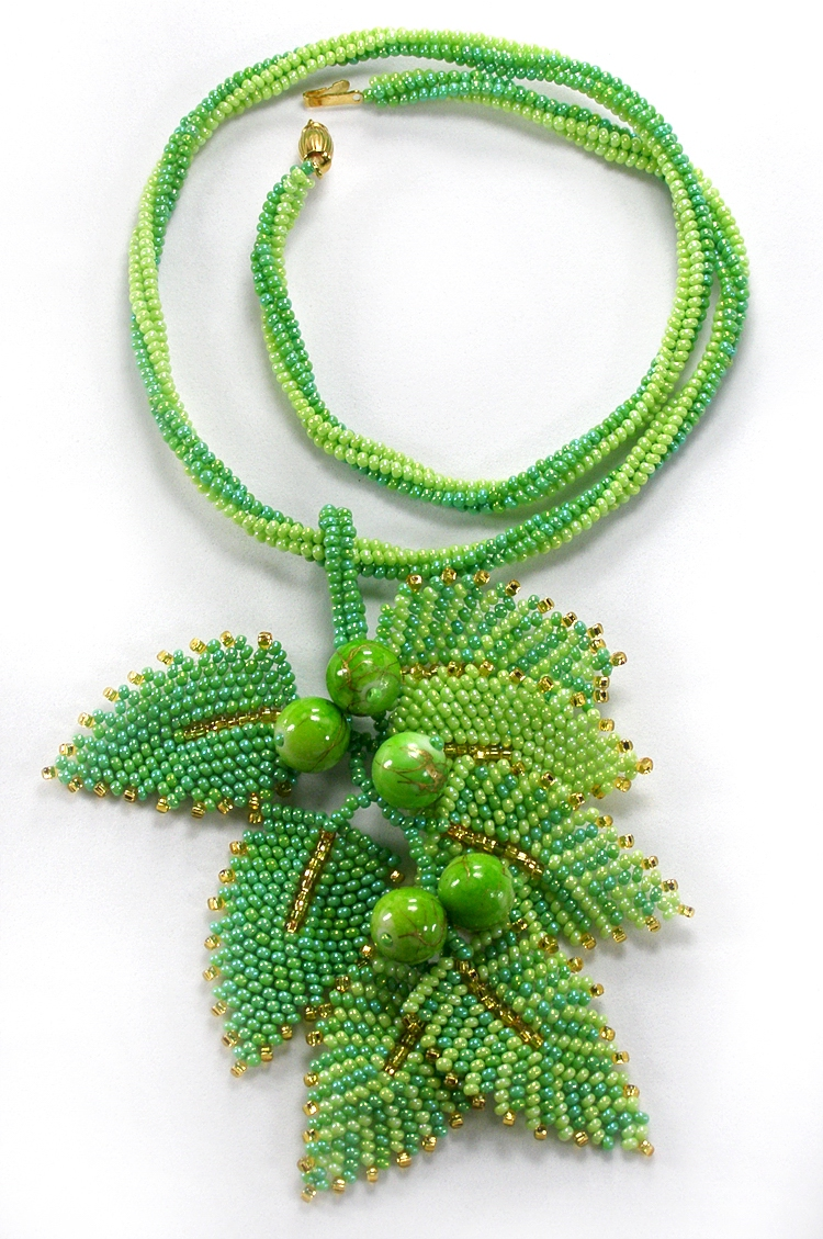 Necklace «Early spring»